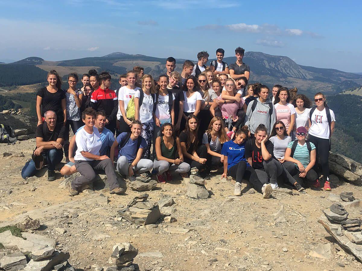 Randonnée TES au Mont Gerbier