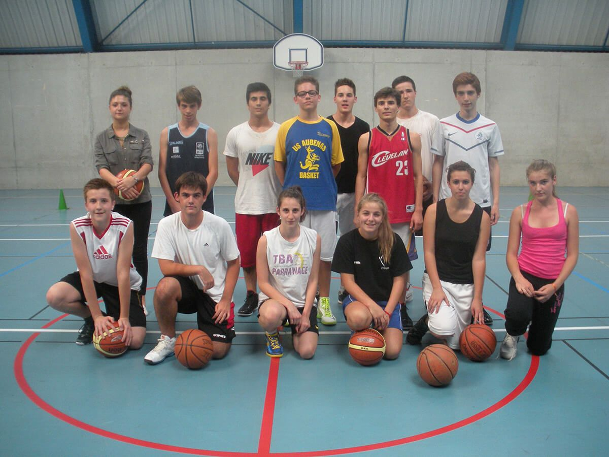 Section sportive basket