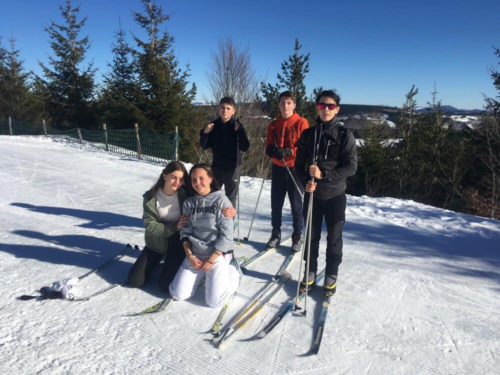 Ski de fond à La Chavade